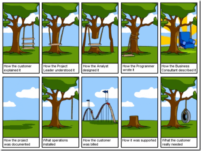 Requirements Engineering Cartoon