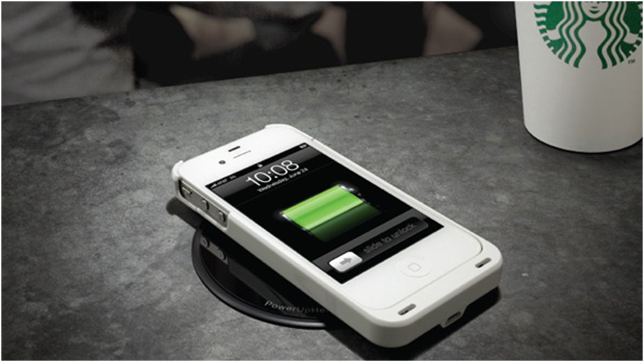 Starbucks offers wireless charging